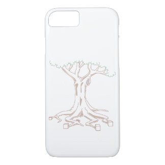 Tree with Cube Roots iPhone 8/7 Case