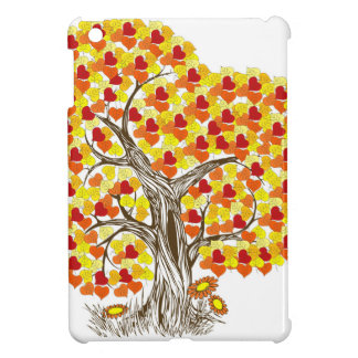 Tree with Fall Leaves Cover For The iPad Mini