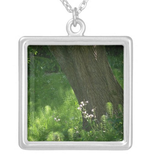 Tree with Ferns Necklace