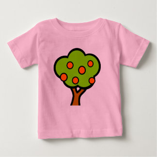 tree with fruits baby T-Shirt