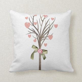 Tree with hearts American MoJo Pillows Cushion