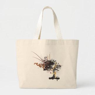 Tree Woman Jumbo Tote Bag