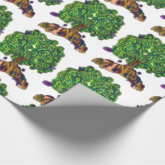 tree wrapping paper