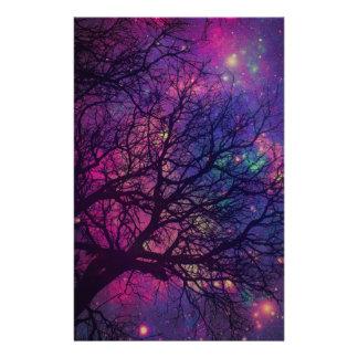 Tree x Space Stationery