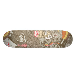 treegod 1 custom skate board