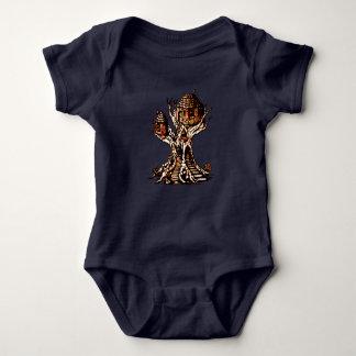 Treehouse 2 baby bodysuit