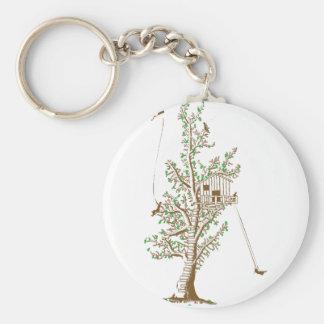 Treehouse Key Ring