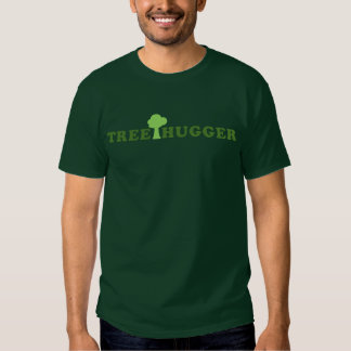 Treehugger with Tree Tshirt