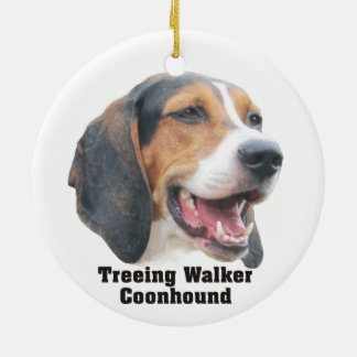 Treeing Walker Coonhound Christmas Ornament