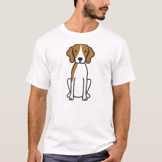 Treeing Walker Coonhound Dog Cartoon T-Shirt