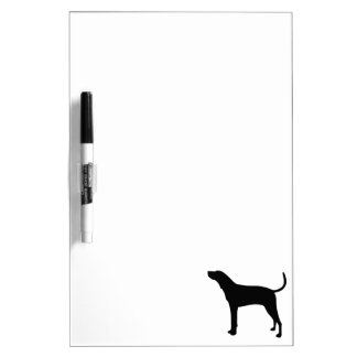 Treeing Walker Coonhound Silhouette Dry Erase Board