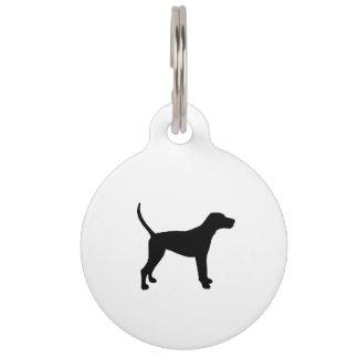 treeing walker coonhound silo black.png pet tag