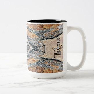 Treemo Gear Diamonds & Rust Camo Pattern Mug