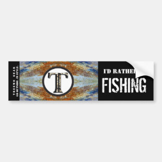 Treemo Nature Personalised Bumper Sticker- Fish Bumper Sticker