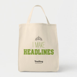 TreeRing Yearbook Heroes Tote Bag