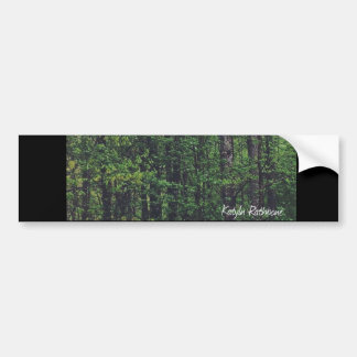 Trees above us bumper sticker