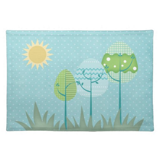 Trees American MoJo Placemat