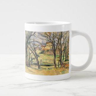 Trees and Houses Near the Jas de Bouffan Large Coffee Mug