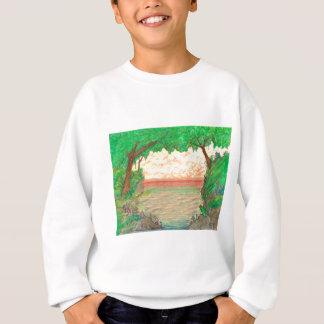 Trees and Ocean Sweatshirt