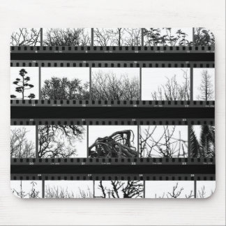 trees and plants film proof sheet mouse pad