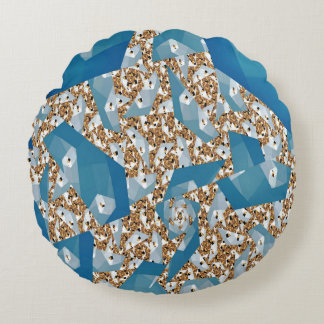 TREES AND SKY ROUND CUSHION