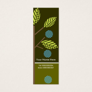 Trees And Their Fruit Business Cards-Skinny Mini Business Card