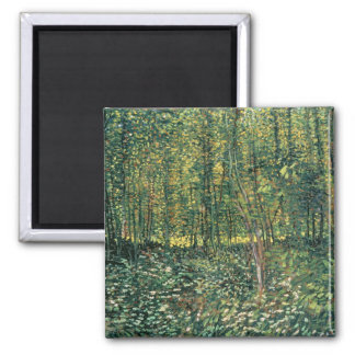 Trees and Undergrowth, 1887 Refrigerator Magnet