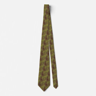 Trees and Undergrowth by Vincent van Gogh Tie