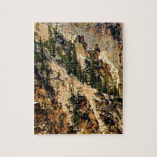 trees and yellow slope jigsaw puzzle
