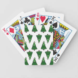 Trees Bicycle Playing Cards