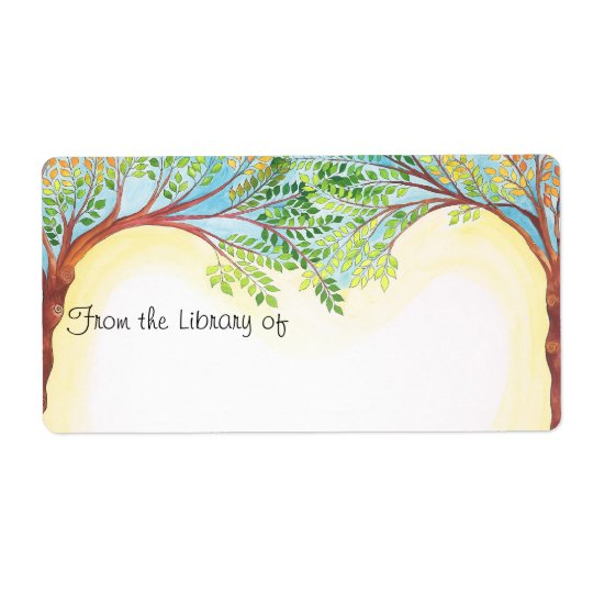 Trees Book plate