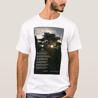 """Trees"" by Joyce Kilmer T-Shirt"