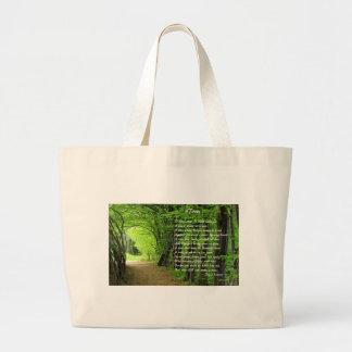 Trees by: Joyce Klimer Large Tote Bag