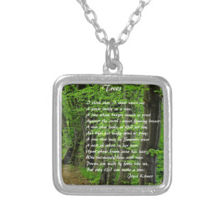 Trees by: Joyce Klimer Silver Plated Necklace