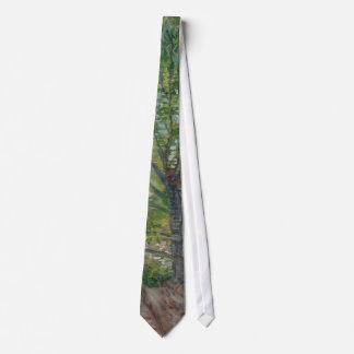Trees by Vincent Van Gogh Tie