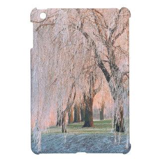 Trees Ice Covered Willow iPad Mini Cases