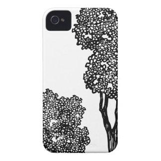 Trees Illustration Case-Mate iPhone 4 Case
