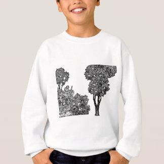Trees Illustration Sweatshirt