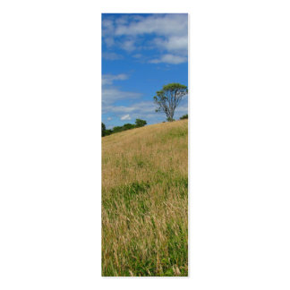 Trees in a Wheat Field Business Card