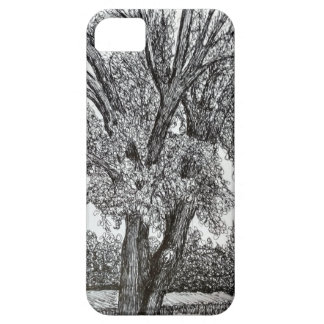 Trees in Pen and Ink Case For The iPhone 5