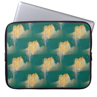 Trees in the colors of Fall... Laptop Sleeve