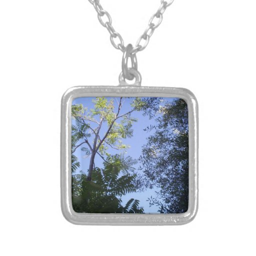 Trees In The Sky Necklaces