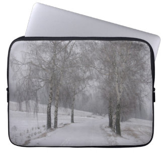 Trees in Winter Laptop Computer Sleeve