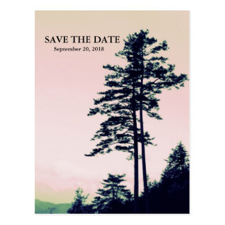 Trees Love l Celebrating Nature Save The Date Postcard