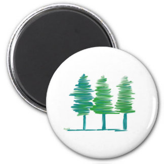 Trees Magnet