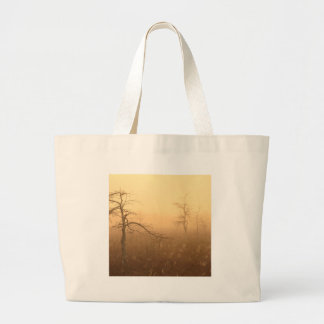 Trees Morning Dew Everglades Florida Tote Bags
