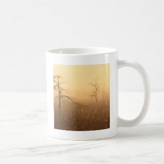 Trees Morning Dew Everglades Florida Coffee Mug