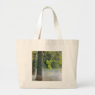 Trees Morning Fog Percy Warner Tennessee Tote Bag