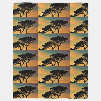 Trees Nature Fall Landscapes Sky Destiny Destiny's Fleece Blanket