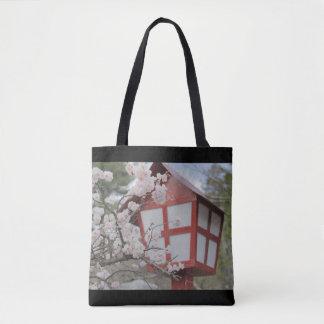 Trees of cherry tree tote bag